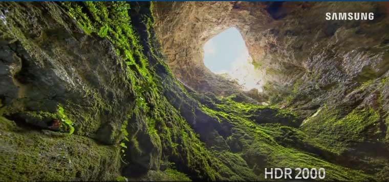 qled pentru imagini HDR